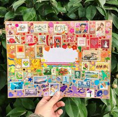 Loved creating this one because I only used my two favorite crafting supplies in the 🌎: STAMPS AND STICKERS 🙌🏼❣️💌🌈 Pen Pal Letters, Letter Art, Letter Writing, Envelope Art, Envelope Design, Diy Postcard, Mail Art Envelopes, Snail Mail Pen Pals, Fun Mail