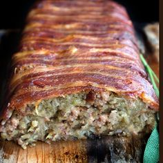 Make the stuffing the star of the show with this Bacon Wrapped Sage & Sausage Stuffing recipe.
