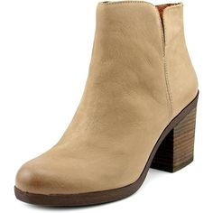 Lucky Brand Orsann Women Round Toe Leather Ankle Boot * This is an Amazon Affiliate link. You can find more details by visiting the image link.