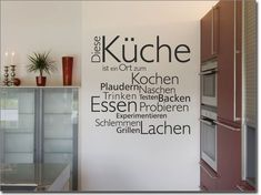 Next Post Previous Post Wandtattoo Diese Küche Wall Decal This Kitchen Home Goods Decor, Diy Home Decor, Küchen Design, Wall Design, Wall Clock Sticker, Kitchen Wall Decals, Farmhouse Style Decorating, Trendy Home, Home Decor Kitchen