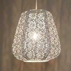 BuyJohn Lewis Easy-to-fit Rosanna Ceiling Pendant Shade, White Online at johnlewis.com