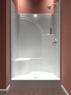 View All Showers: Neo Angle And Corner Showers, One Piece Showers, 4 Piece  Remodler Showers.