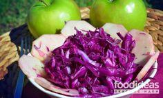 Салат из красной капусты - рецепт приготовления с фото | FOODideas.info