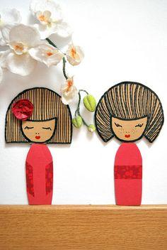 pretty Cardboard craft