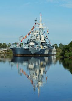 USS North Carolina Battleship at Wilmington, NC
