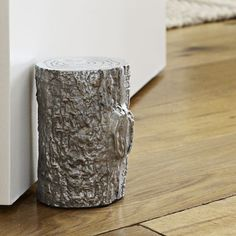 Metallic Stump Doorstop | west elm