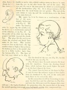 How to Draw Childrens Head from Side