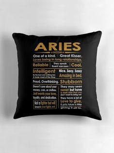 Aries cushion