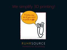 We simplify 3D printing!