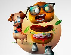 """Check out new work on my @Behance portfolio: """"""""HOT DOG"""""""" http://be.net/gallery/50814457/HOT-DOG"""