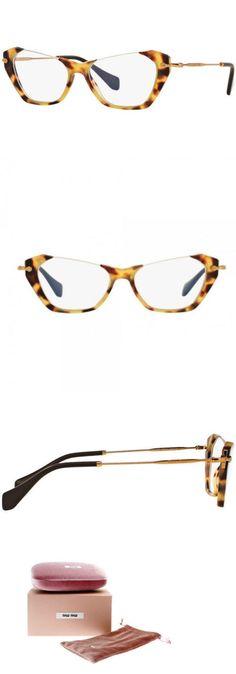 5a29d889b8dd Fashion Eyewear Clear Glasses 179248  New Miu Miu Glasses Frames Mu04ov  Han1o1 Sand Yellow Havana Women S 52Mm -  BUY IT NOW ONLY   98 on eBay!
