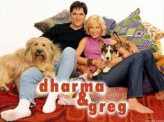 Dharma and Greg - one of my favorite shows of the past 15 years! Old Tv Shows, Best Tv Shows, Movies And Tv Shows, Favorite Tv Shows, Dharma And Greg, The Last Starfighter, Thomas Gibson, Tv Show Games, Comedy Show