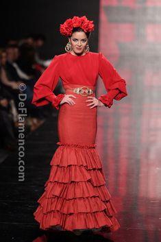 Fotografías Moda Flamenca - Simof 2014 - Patricia Bazarot 'Sentio' Simof 2014 - Foto 07