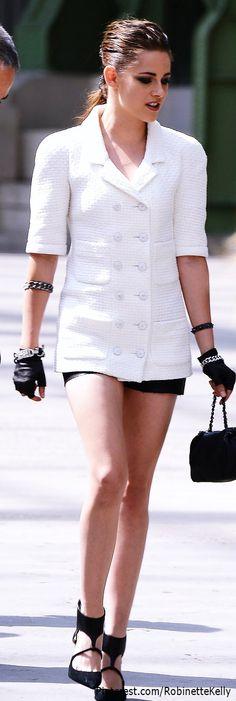 Street Style | Kristen Stewart in Chanel