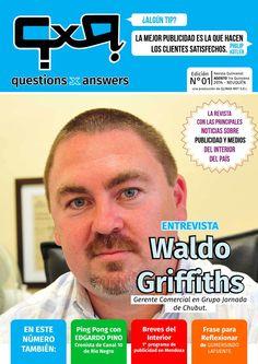 QxA revista agosto 1°quincena 2014  Primera Edición de la revista Questions x Answers