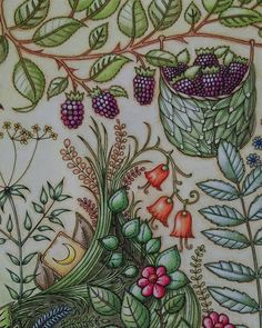 4th symbol. Berries and flowers.#EnchantedForest