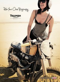 It's Better in the Wind. Or on a Triumph