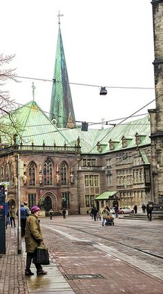 Bremen Germany, City Streets, Germany Travel, Genealogy, Passport, Louvre, Around The Worlds, Street View, Europe