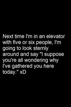 I'd do that!