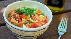 Pipirrana Once platos tradicionales españoles para combatir el calor