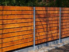 Sztachetowe i Panelowe - Ogrodzenia drewniane -  #2
