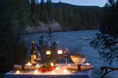 To have a romantic dinner