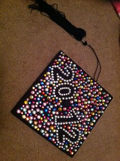 Grad cap decoration idea