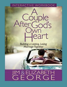 """[""""In A Couple After God's Own Heart Interactive Workbook, Jim and Elizabeth George build on the content of their book, A Couple After God's Own Heart, to create a companion guide that leads husbands and wives through a fascinating study on God's plan for marriage. Through a unique blend of Bible study material, questions for thought, and """"What Can I Do Today?"""" applications, couples will grow a closer and deeper union as they... learn from the successes and failures of key couples i…"""
