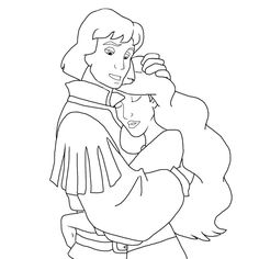 The swan princess coloring pages | Disney and other art impressions ...