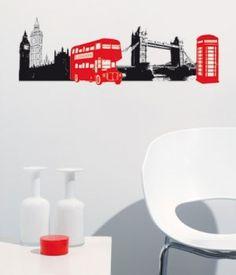 Big Ben. Alle producten van Caselio zijn op aanvraag te verkrijgen... #muurstickers #Caselio #Decodomus