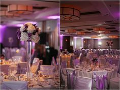Doing a purple wedding just right: Real Wedding at Embassy Suites Chicago Downtown |  Images by Studio Finch     #purple