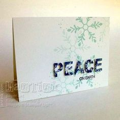 Holly Jolly Greetings - Stampin Up - Photo Tutorial
