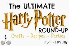 Harry Potter Parties: The Ultimate Harry Potter Roundup. #HarryPotter #party