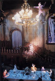 Ballroom Haunted Mansion Disneyland