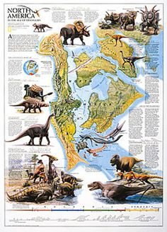 """ANTIQUE NORTH AMERICA MAP National Geographic 1924 Huge 28"""" x ..."""