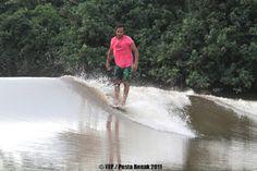 Surfing In Malaysia: Pesta Benak / River Surfing in Sri Aman Sarawak, East Malaysia