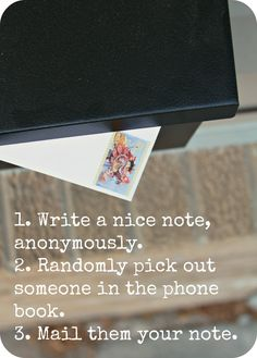 WhiMSy love: an awesome random act of kindness... anonymously.