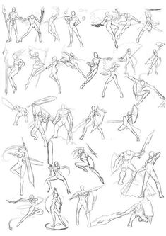 РИСУЕМ ЧЕЛОВЕКА | ПОЗЫ И АНАТОМИЯ Drawing Body Poses, Body Reference Drawing, Gesture Drawing, Drawing Reference Poses, Character Poses, Character Drawing, Comic Character, Character Design, Fighting Drawing