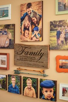 A photo canvas adds a beautiful touch to any room, but they can be quite expensive. You can DIY it with Mod Podge! How to make your own beautiful DIY photo canvas on the cheap, perfect for a gallery wall. Love bringing home decor ideas to life! Home Decor Pictures, Living Room Pictures, Family Pictures, Display Family Photos, Wall Pictures, Wall Photos, Diy Photo, Unique Home Decor, Cheap Home Decor