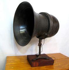 Vintage Loud Speaker/Industrial WWII Air Raid Siren