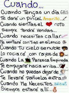 A tod@ mi gente!! Sad, Besties, Bestfriends, Mr Wonderful, Ideas Para, Best Friends Forever, Spanish Quotes, Presents, Unique Jewelry