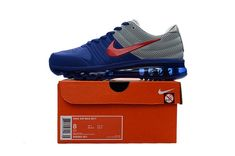 Nike Air Max 2017 Top Running Shoes Mens Blue Gray