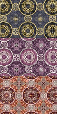 3 Greek Seamless Patterns. Patterns