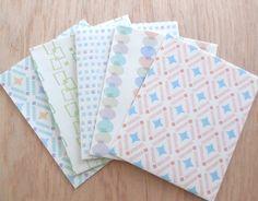 夏の「さっぱりゆかた模様」ぽち袋 5枚セット カード・レター QK ハンドメイド通販・販売のCreema