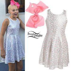 Jojo steal her style Jojo Siwa Outfits, Girl Outfits, Cute Outfits, Fashion Outfits, Jojo Siwa Bows, Jojo Bows, Barbie, Jojo Juice, Jojo Siwa Birthday