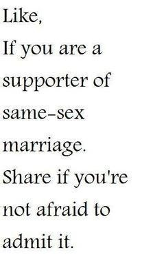 supportive of lesbian sister, supportive of bi stepsister, supportive of gay best friend, supportive of gay(MARRIED) uncle.Pretty sure I support same sex marriage and I'm not afraid to show it Lgbt Rights, Equal Rights, Human Rights, Transgender, Johnlock, Destiel, Nos4a2, Faith In Humanity Restored, Lgbt Community