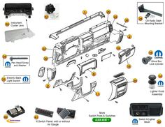 23 best jeep tj parts diagrams images on pinterest diagram jeep rh pinterest com