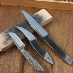 beautiful file knives from different file brands.