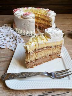 Baking Recipes, Cake Recipes, Dessert Recipes, Posne Torte, Opera Cake, Torte Recepti, Torte Cake, No Bake Cake, Fun Desserts