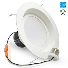 TorchStar 19Watt 6-inch ENERGY STAR UL-listed Dimmable Retrofit LED Recessed Lighting Fixture  sc 1 st  Pinterest & Sylvania 70734 Ultra LED 6-Inch Downlight Recessed | #12Watt ... azcodes.com